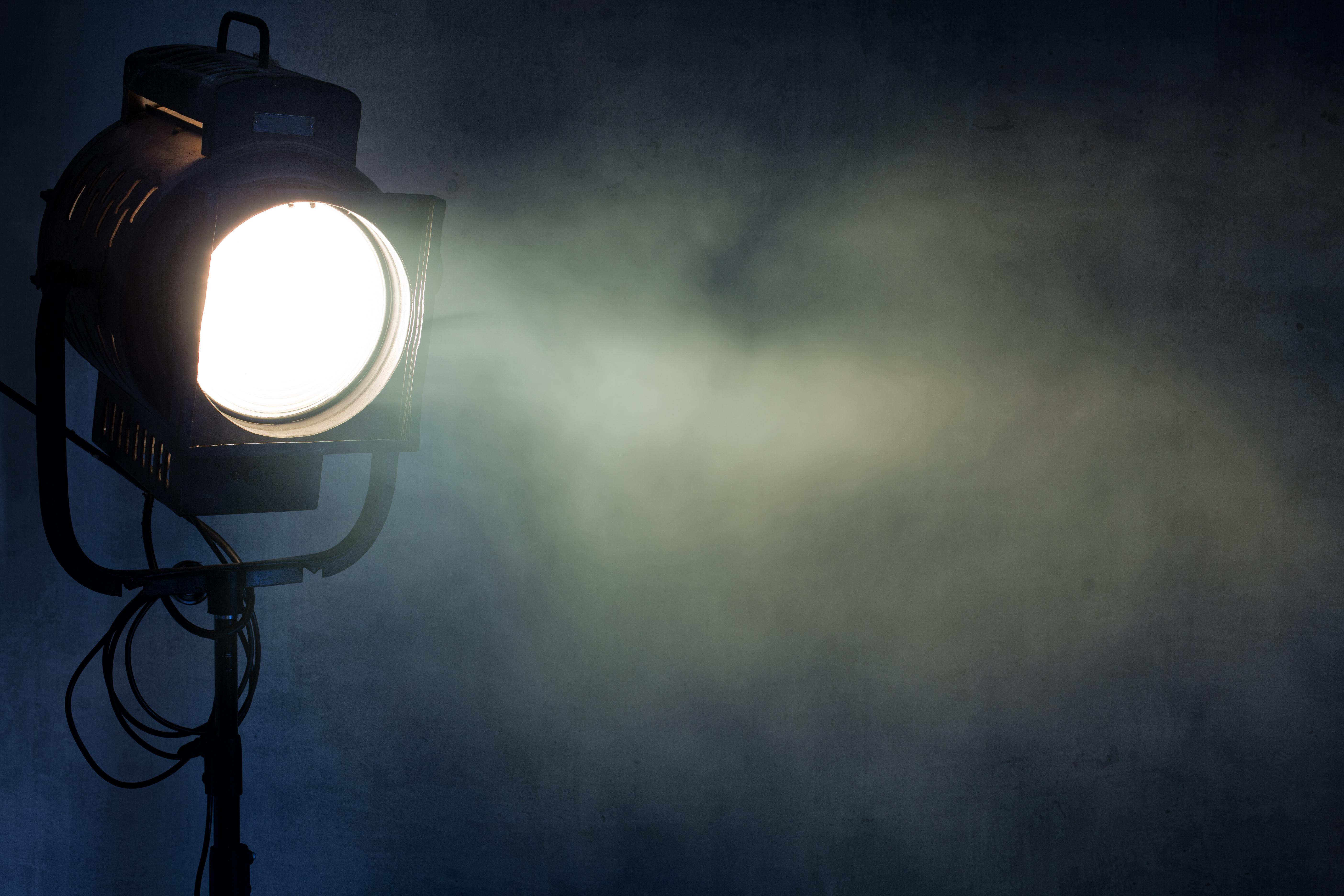 spotlight for theater