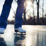 a person ice skating